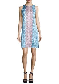 Nanette Lepore Sleeveless Printed Shift Dress