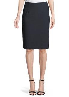 Nanette Lepore Sly Textured Pencil Skirt