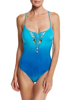 Nanette Lepore Solola Goddess One-Piece Swimsuit