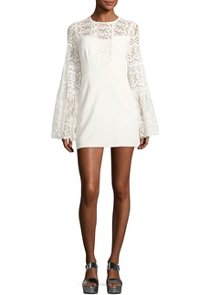 Spanish Dancer Lace Mini Dress