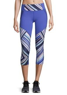 Nanette Lepore Stripe Capri Leggings