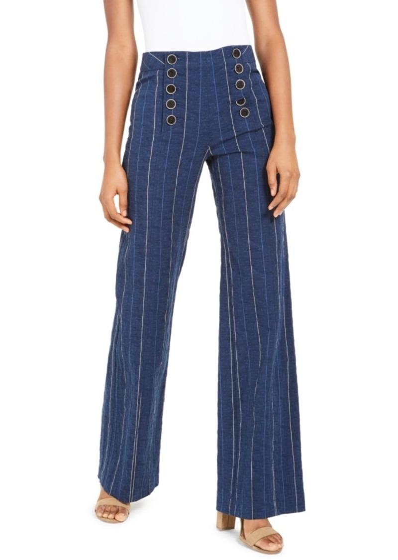 Nanette Lepore Striped Sailor Pants
