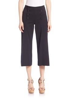 Nanette Lepore Sugarcane Cropped Pants