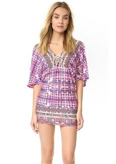Nanette Lepore Sunset Shibori Tunic