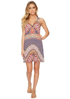 Nanette Lepore Super Fly Paisley Short Dress Cover-Up