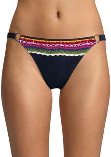 Nanette Lepore Swim Crochet Bikini Bottom