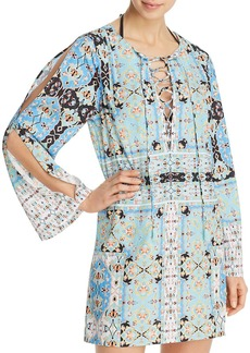 Nanette Lepore Tapestry Tunic Swim Cover-Up - 100% Exclusive