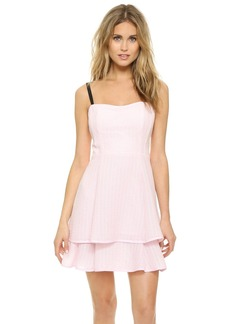 Nanette Lepore Tie Back Tier Dress