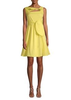 Nanette Lepore Tie Flare Dress
