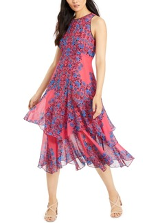Nanette Lepore Tiered-Hem Maxi Dress