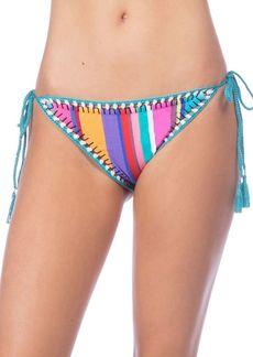 Nanette Lepore Vamp Side-Tie Hipster Bikini Bottoms