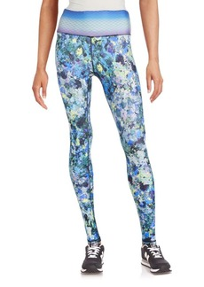 Nanette Lepore Watercolor Printed Leggings