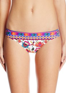 Nanette Lepore Women's Antigua Chamer Strappy Bikini Swimsuit Bottom  XS