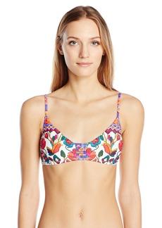 Nanette Lepore Women's Antigua Enchantress Bralette Bikini Top  L