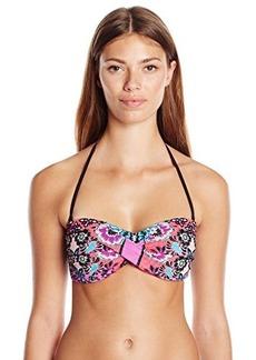 Nanette Lepore Women's Bali Batik Tease Bikini Top