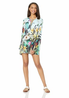 Nanette Lepore Women's Bell Sleeve Beach Cover Up Tunic