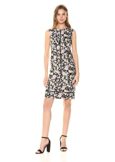 Nanette Lepore Women's Center Stage Printed Jacquard Dress