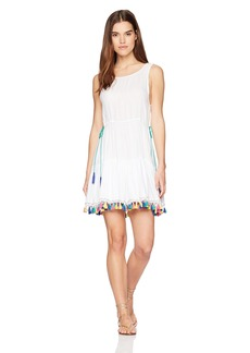 Nanette Lepore Women's Fiesta Covers Short Dress Coverup  ExtraSmall