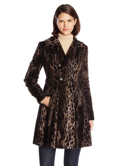 Nanette Lepore Women's High Voltage  Print Coat