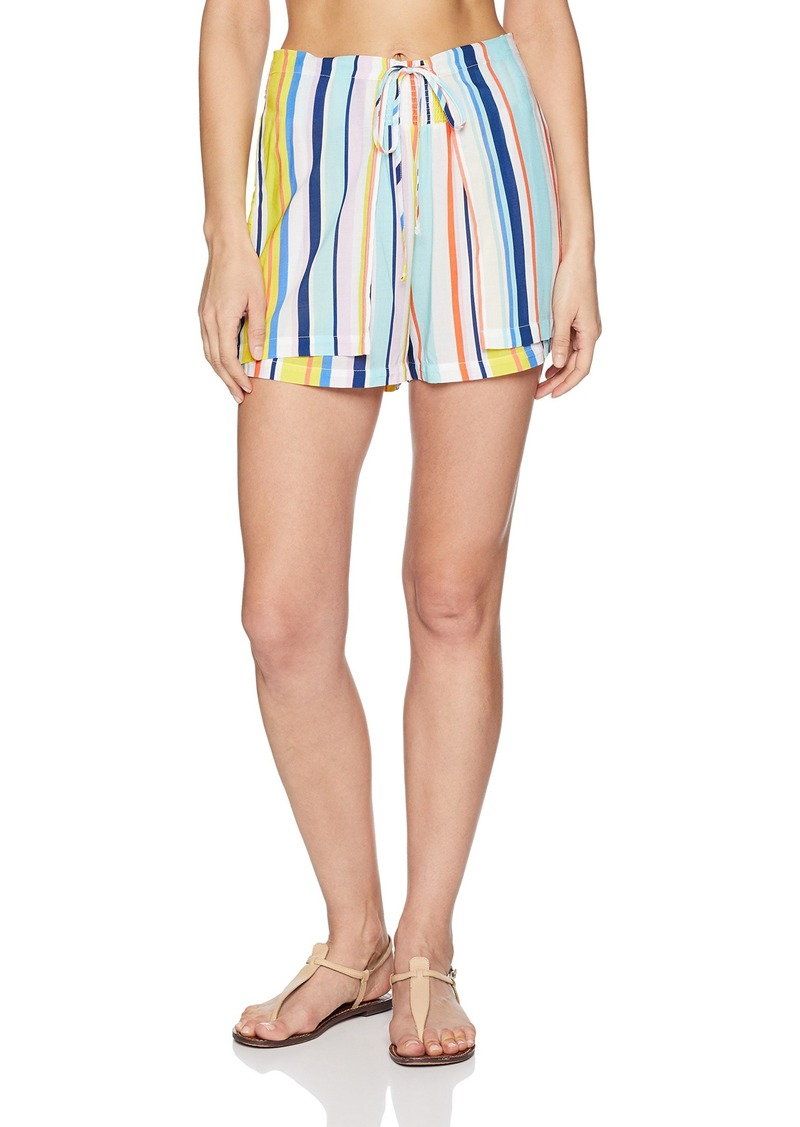 Nanette Lepore Women's High Waist Wrap Shorts