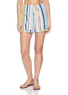 Nanette Lepore Women's High Waist Wrap Shorts  Extra Small