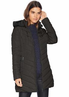 Nanette Lepore Women's Long Puffer Coat  L