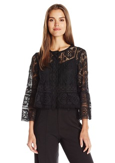 Nanette Lepore Women's Lucky Lace Top