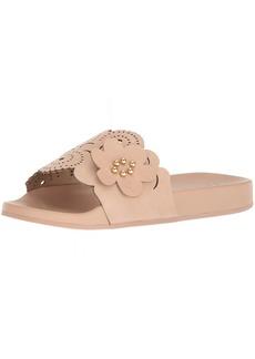Nanette Lepore Women's Maria Slide Sandal dusty pink  M US