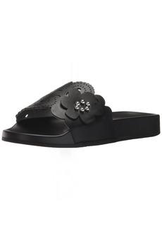 Nanette Lepore Women's Maria Slide Sandal black  M US