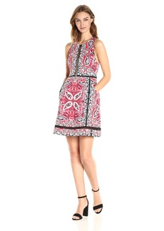 Nanette Lepore Women's Overboard Dress red/Multi
