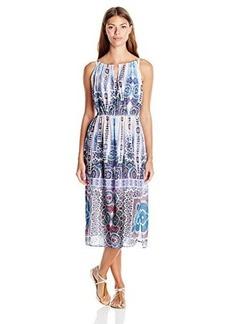 Nanette Lepore Women's Paros Paisley Midi Cover Up Dress