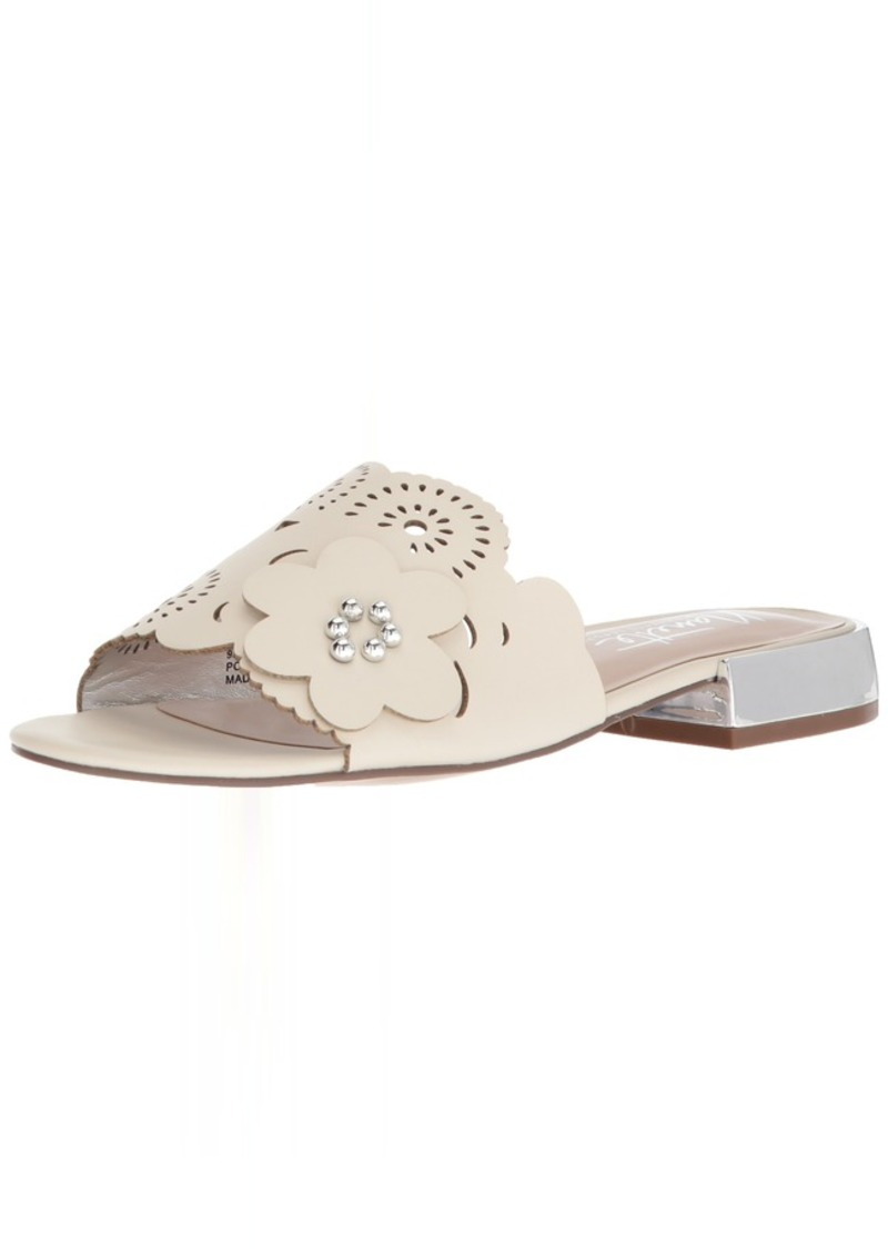 Nanette Lepore Women's Poetry Slide Sandal Off   M US