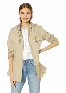 Nanette Lepore Women's Poly Cotton Spring Jacket  L