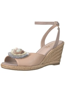 Nanette Lepore Women's Queen Wedge Sandal  7.5 M US