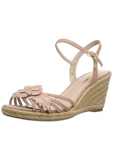 Nanette Lepore Women's Quince Wedge Sandal  8.5 M US