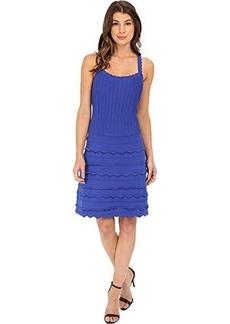 Nanette Lepore Women's Scallop Edge Sleeveless Dress