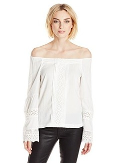 Nanette Lepore Women's Sea Breeze Long Sleeve Blouse