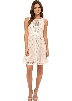 Nanette Lepore Women's Shimmer Shine Sleeveless Dress