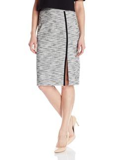Nanette Lepore Women's Side Slit Pencil Skirt