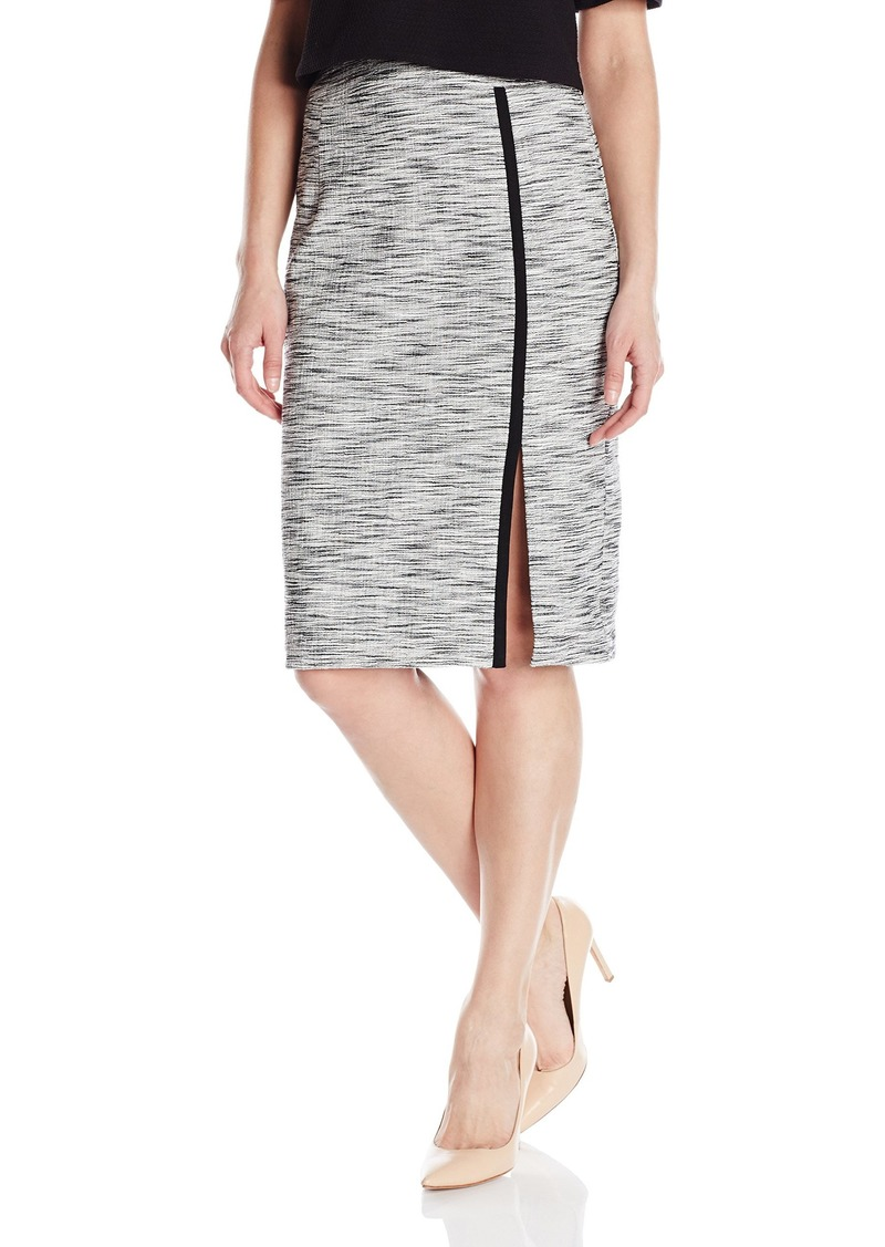 Nanette Lepore Women's Side Slit Pencil Skirt