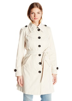 Nanette Lepore Women's Single Breasted Trench Coat