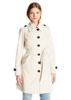 Nanette Lepore Women's Single Breasted Trench Coat
