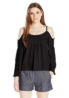 Nanette Lepore Women's Sultry Shoulder Top