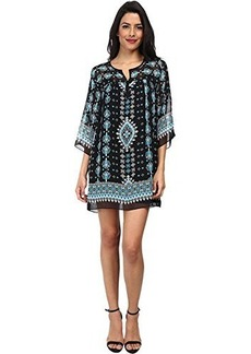 Nanette Lepore Women's Sun-City Silk Print Shift Dress