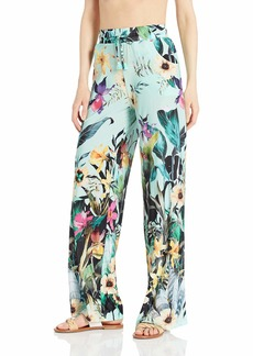 Nanette Lepore Women's Swimwear Beach Pant Cover Up  Extra Small
