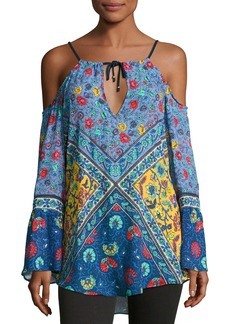 Nanette Lepore Woodstock Off-the-Shoulder Tunic