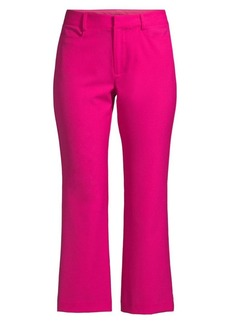 Nanette Lepore Narrow Crop Flare Trousers