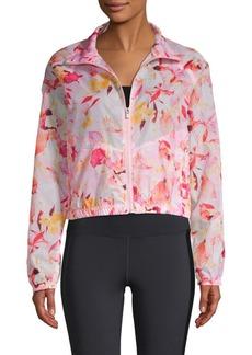 Nanette Lepore Packable Floral Jacket