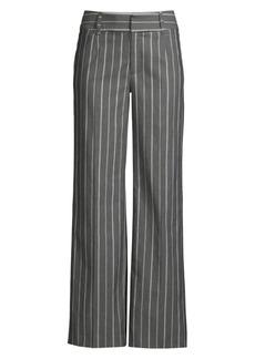 Nanette Lepore Pinstripe Trousers