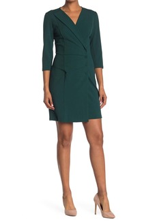 Nanette Lepore Pleated Blazer Mini Dress